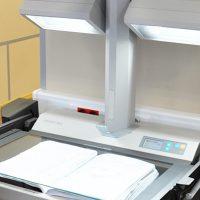 Сканирование книг и сшитых документов