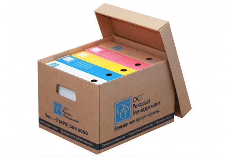 Архивные короба, контейнеры для дисков и лент